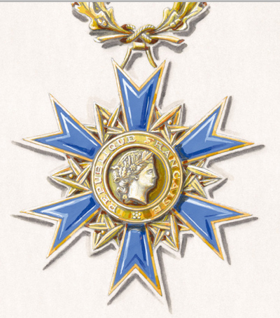 The French National Order of Merit - 50 years