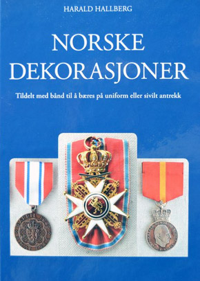 Book about Norwegian orders and medals