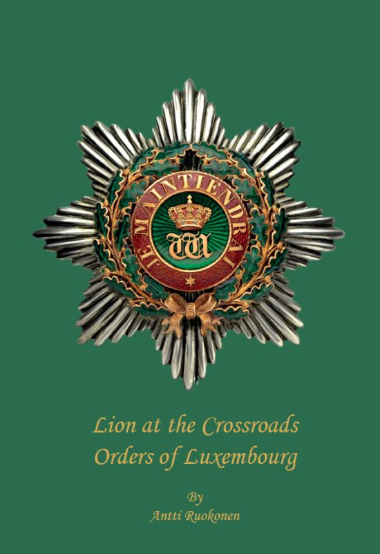 """Lion at the Crossroads"" - new book about the orders of Luxembourg"