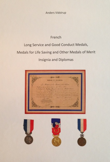 Reference book on French medals