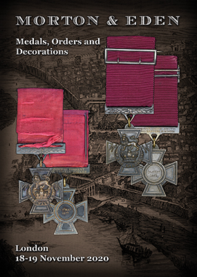 """For Valour"" - two Victoria Crosses up for auction"