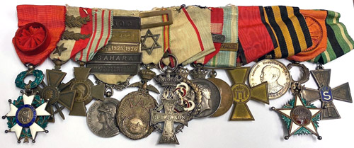 Prince Aage's medal bar has come home