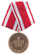 The Medal of the Minister of Defence awarded to nine persons